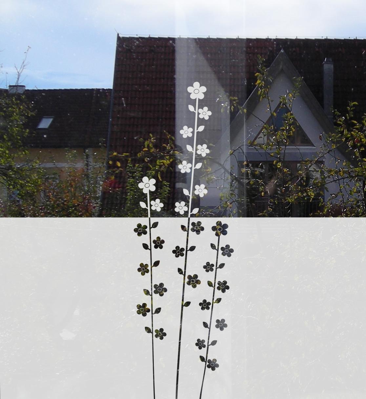 Floraler Sichtschutz