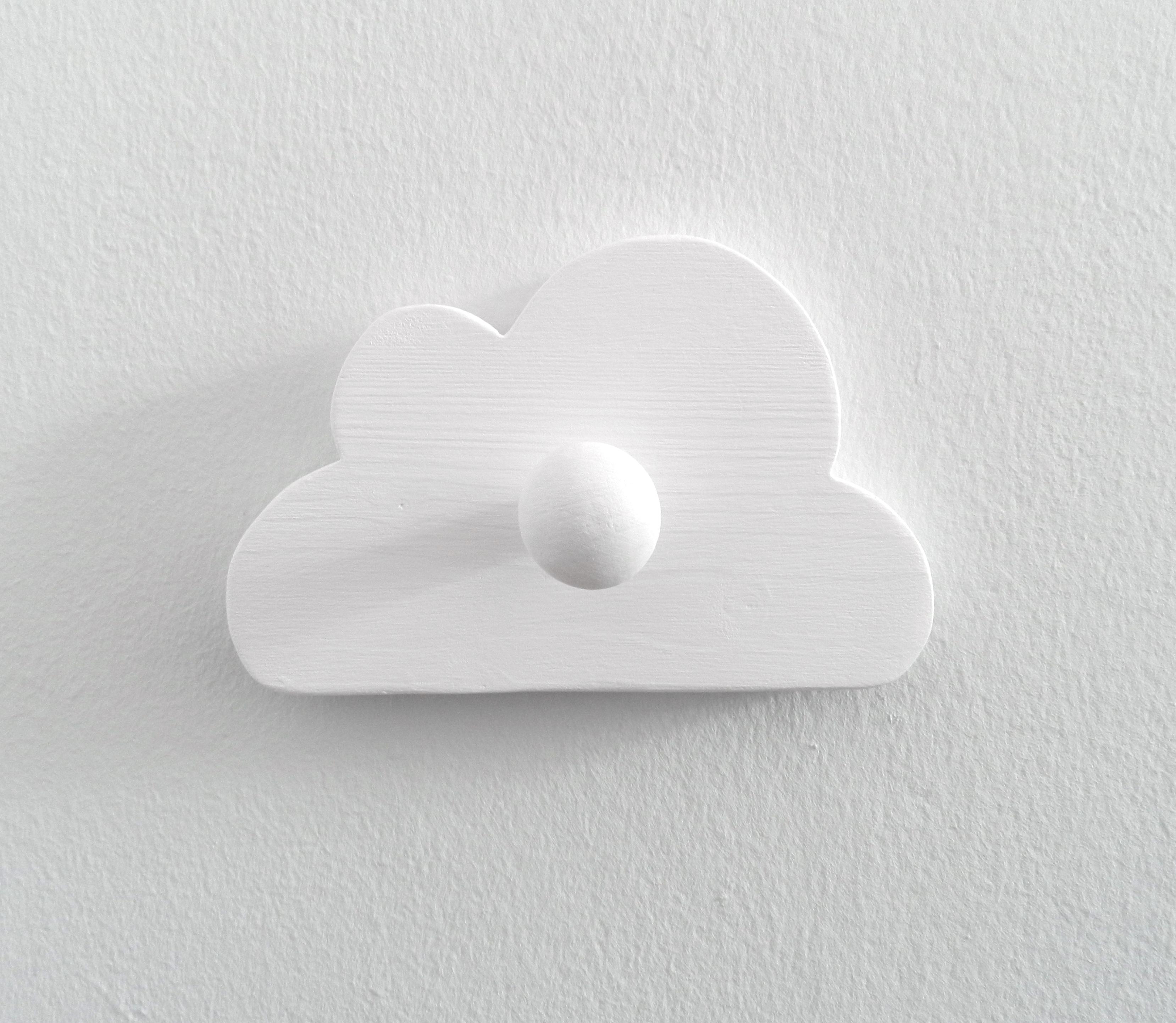 Wolken Garderobe für Kinder
