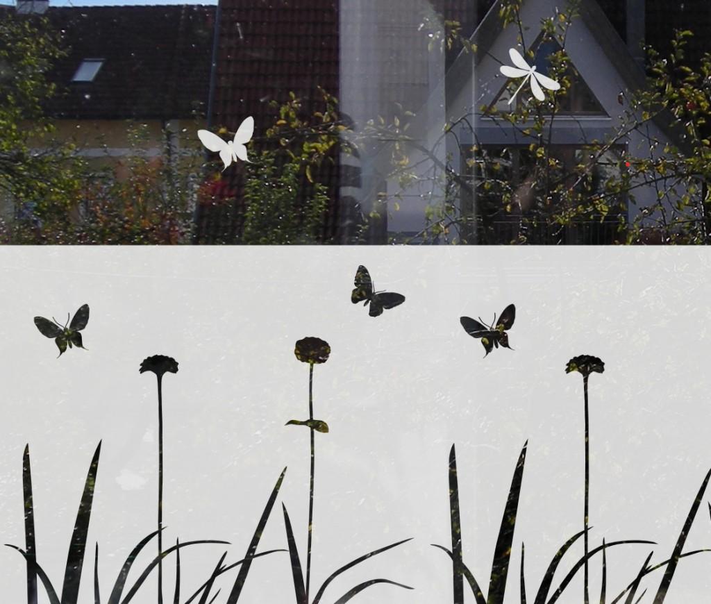 Dekorative Sichtschutz Folie | Musterladen