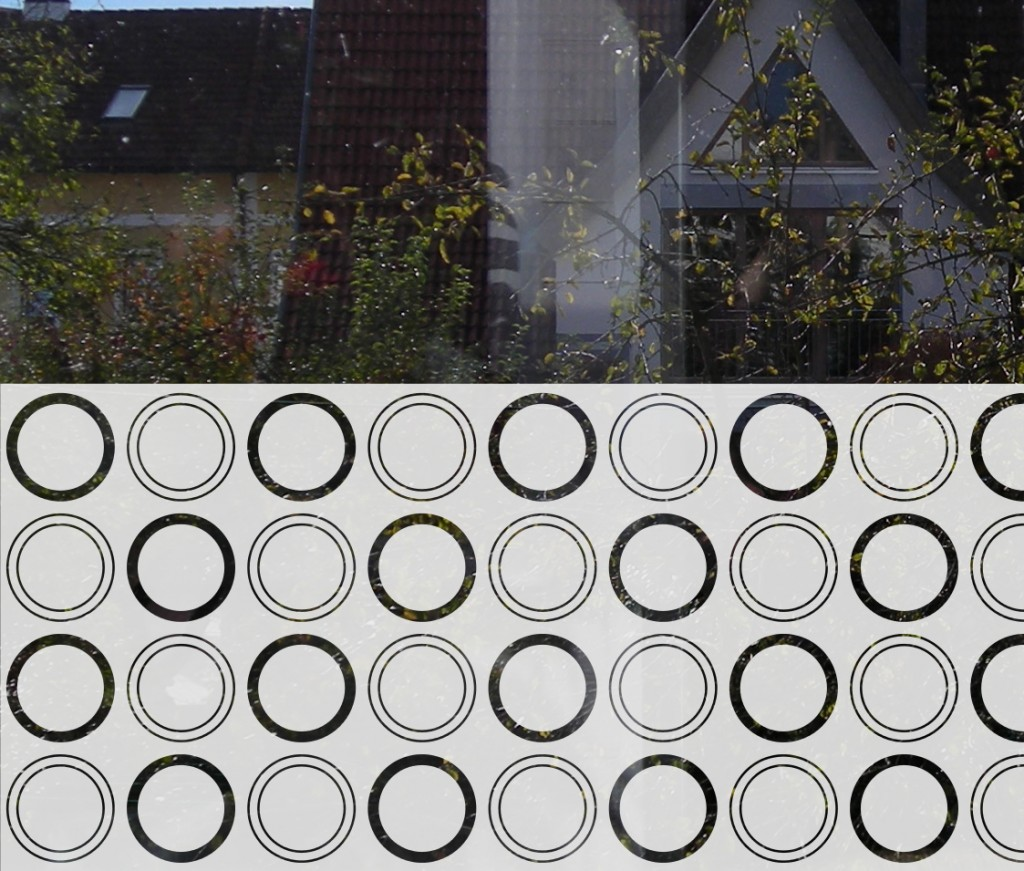 Dekorative Sichtschutz Folien