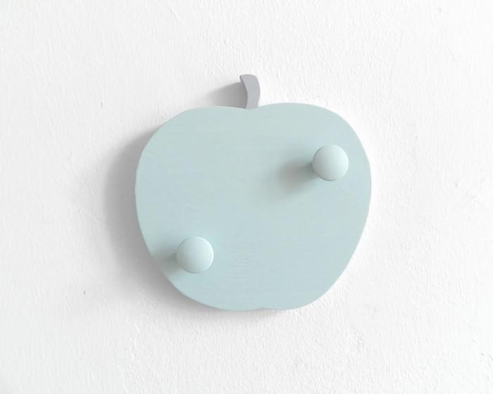 Garderobe fürs Kinderzimmer Apfel