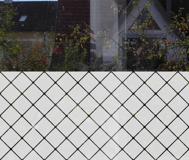 dekorativer Sichtschutz aus Glasdekorfolie