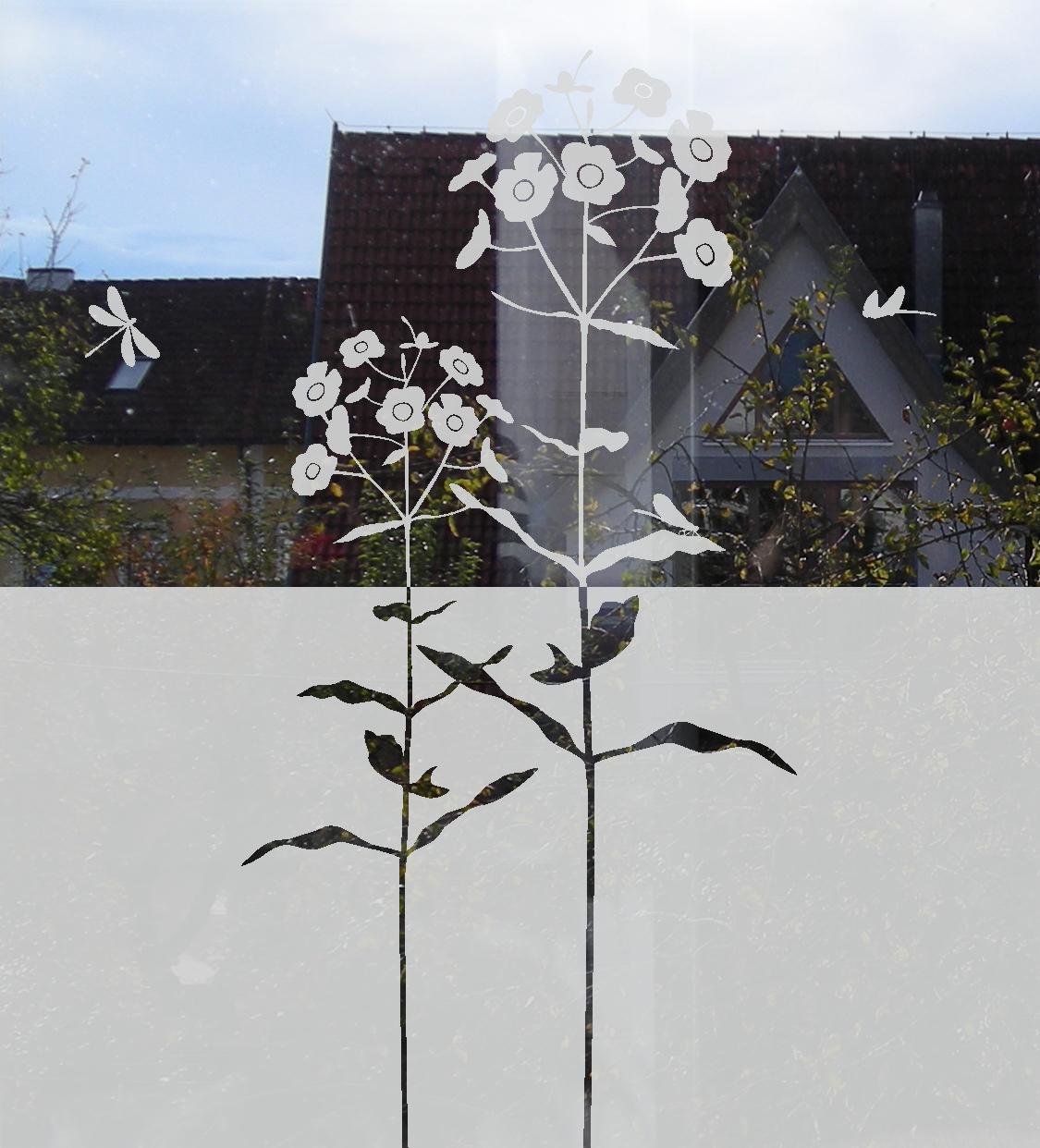 Fenster Sichtschutz und Dekoration