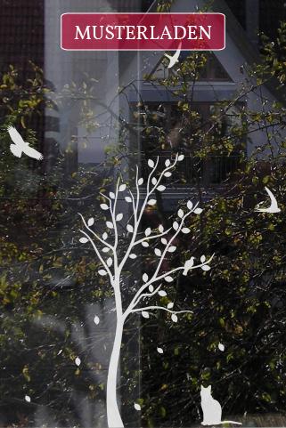 Fensterdekoration und Sichtschutz