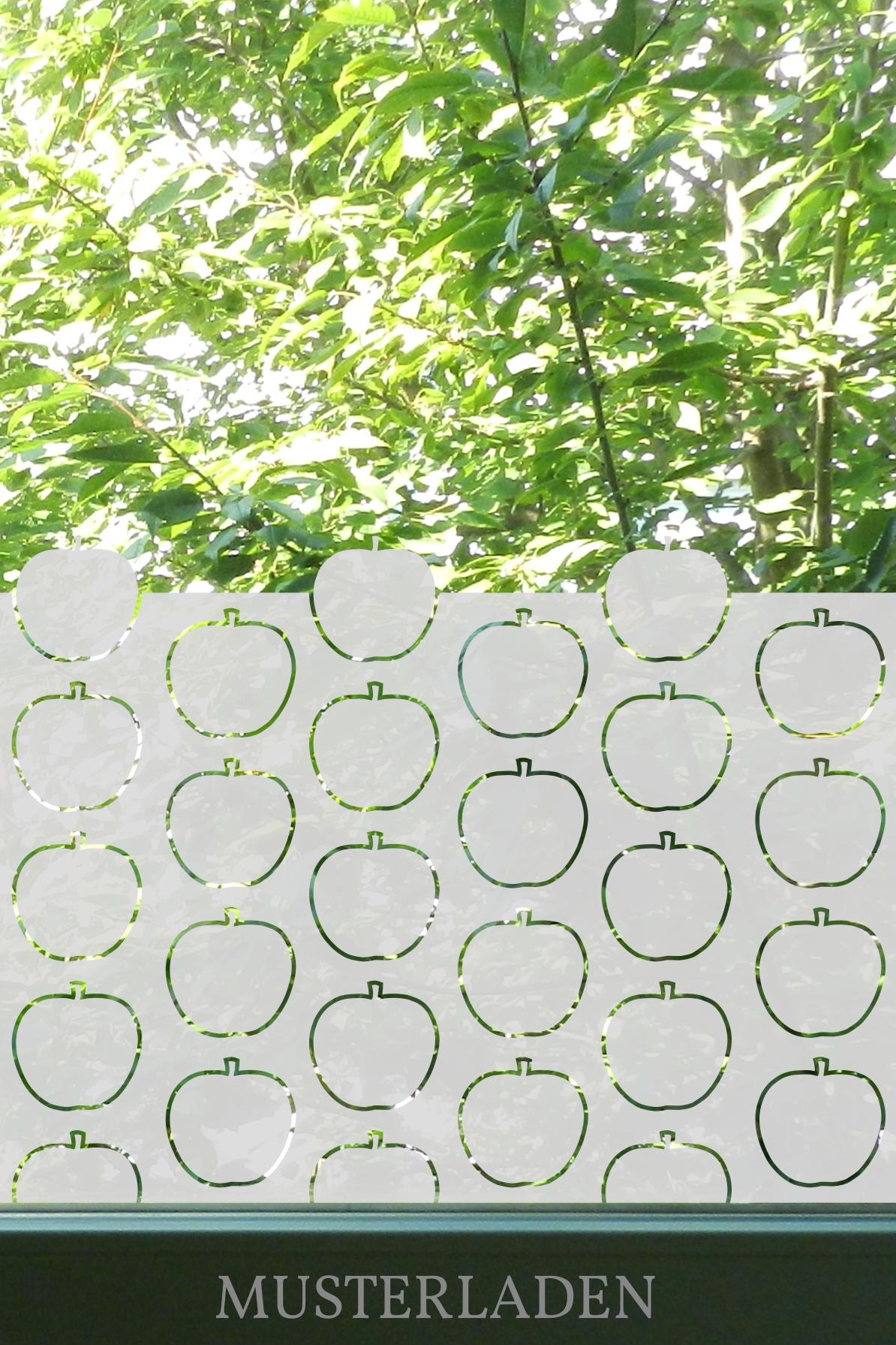 Fensterfolien Motive Äpfel - Musterladen