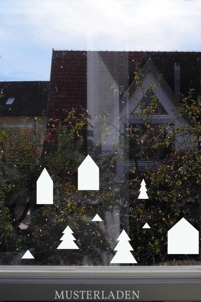 Weihnachtsdeko für Fenster und Wände | Musterladen