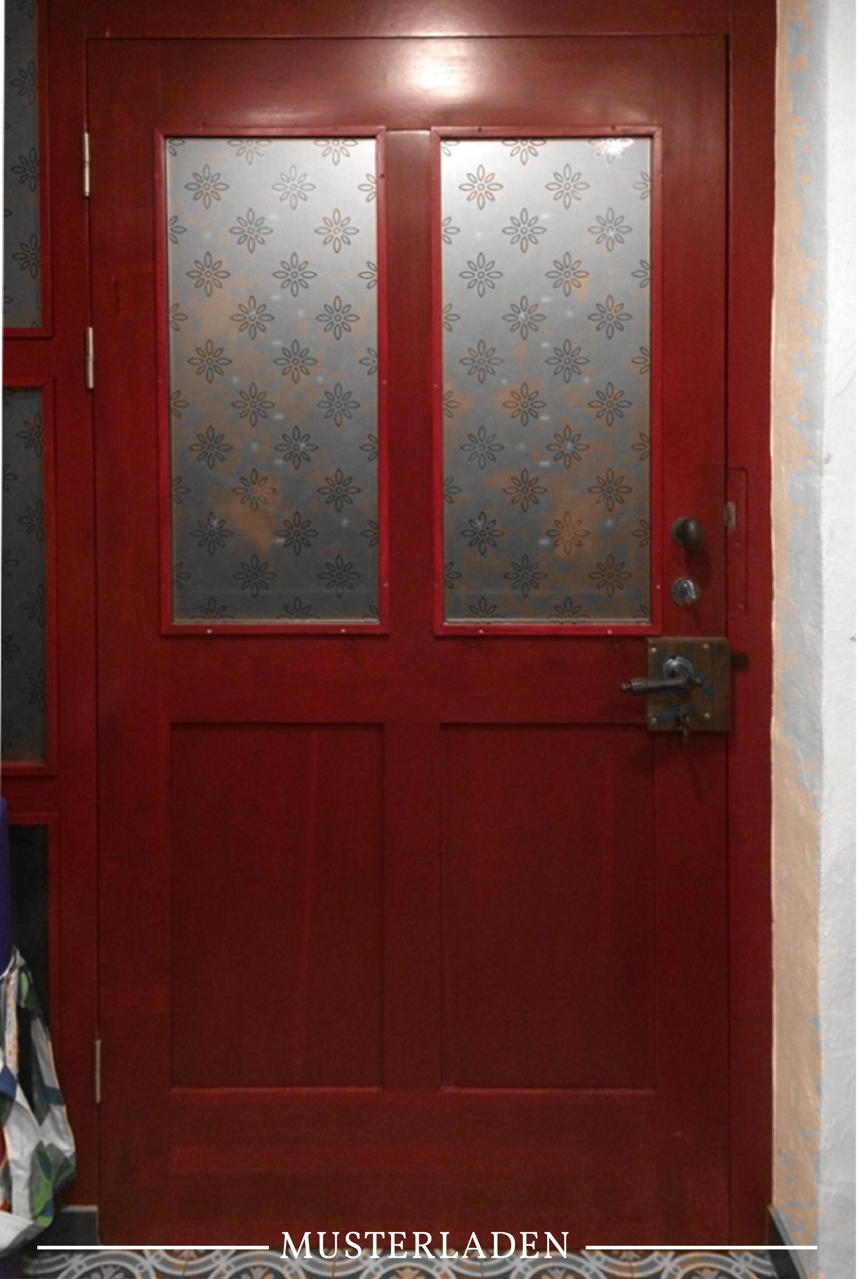 Dekorativer Sichtschutz Fur Glasturen Mit Folien Musterladen