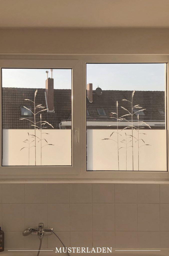 Dekorativer Sichtschutz für Fenster mit Folien - Musterladen