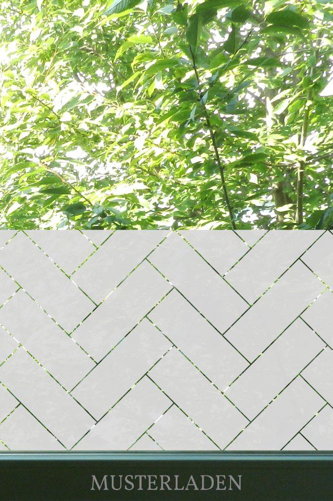 Blickschutz mit Fenster Folien - Musterladen