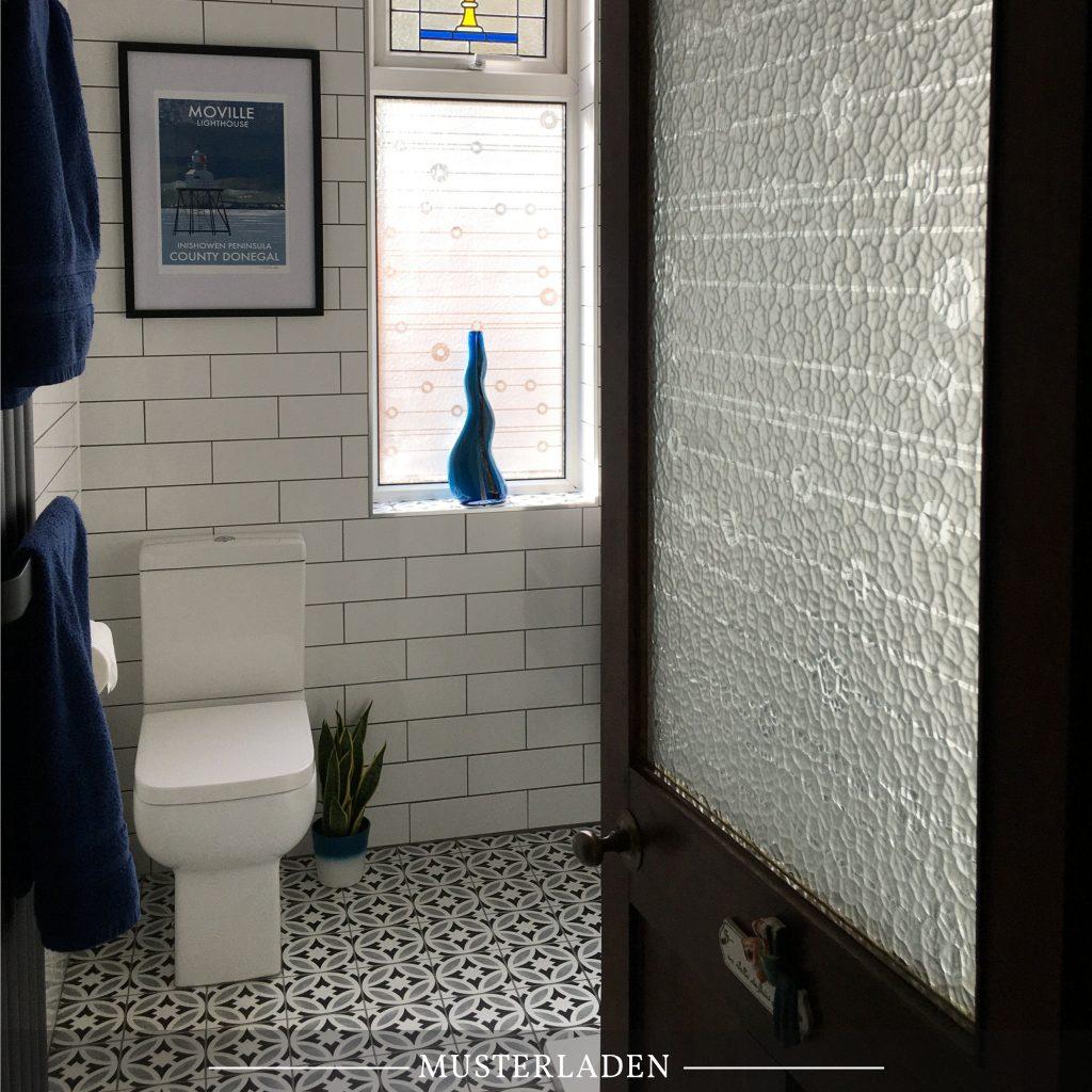 Sichtschutz mit Fensterfolien - Musterladen