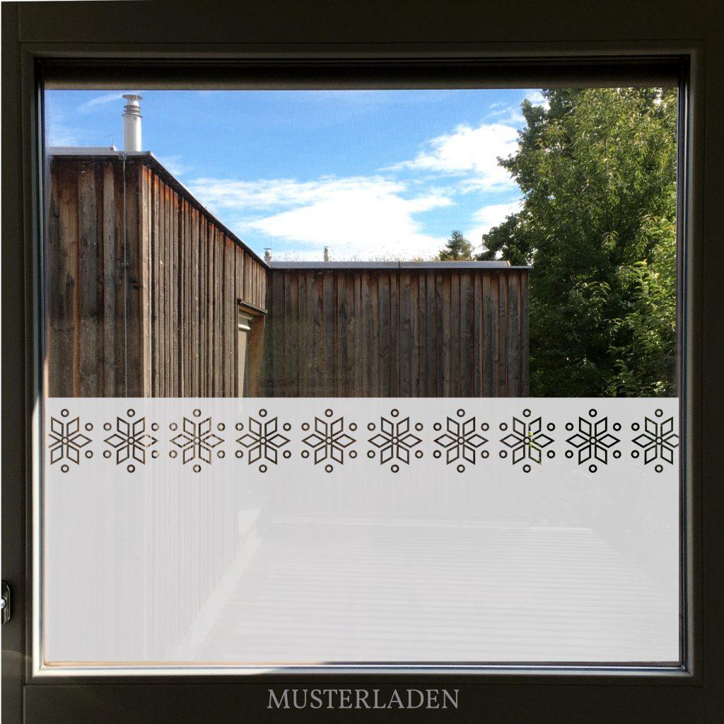 Fensterfolien Motive aus Glasdekorfolie geometrisch
